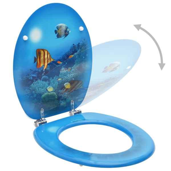 Capac WC, MDF, model subacvatic