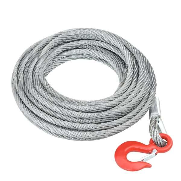 vidaXL Cablu din frânghie de sârmă 3200 kg 20 m