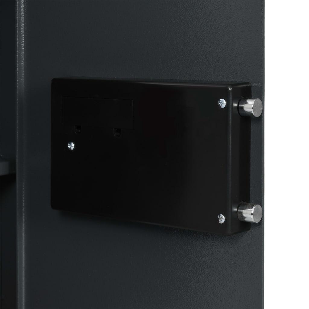 Seif digital, gri închis, 40 x 35 x 60 cm
