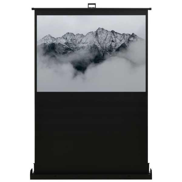 vidaXL Ecran de proiecție cu ridicare pe verticală 60″ 4:3
