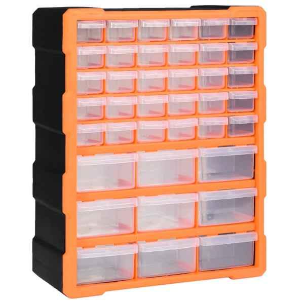 vidaXL Organizator cu 39 de sertare, 38 x 16 x 47 cm