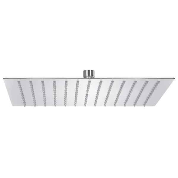vidaXL Cap de duș tip ploaie pătrat, 30 x 30 cm, oțel inoxidabil 304