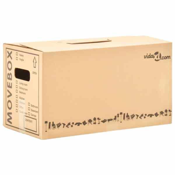 Cutii pentru mutare din carton XXL 80 buc., 60 x 33 x 34 cm