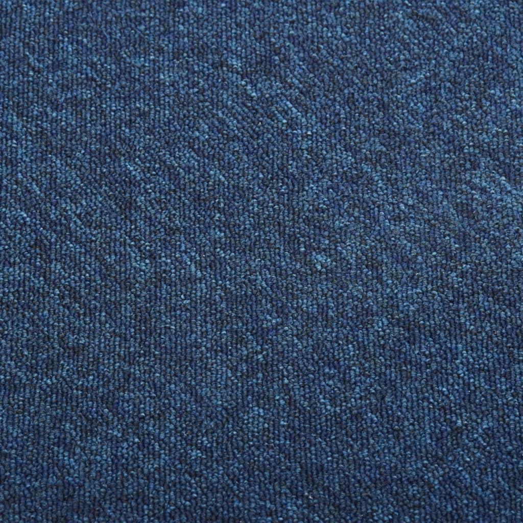 Plăci de pardoseală, 20 buc., albastru închis, 50 x 50 cm, 5 m²