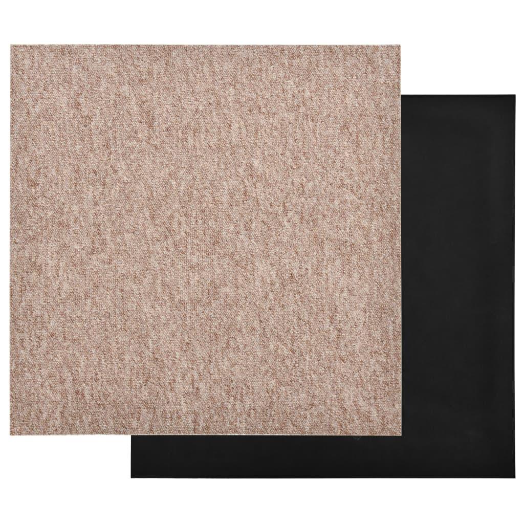 Plăci de pardoseală, 20 buc., bej, 50 x 50 cm, 5 m²