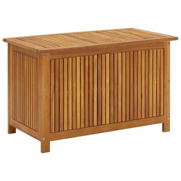 vidaXL Ladă de depozitare grădină, 90x50x106 cm, lemn masiv de acacia