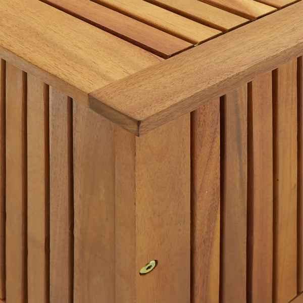 Ladă de depozitare grădină, 90x50x106 cm, lemn masiv de acacia
