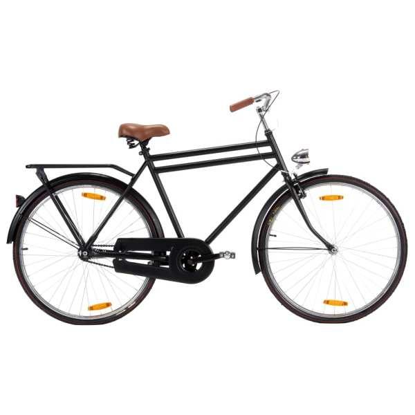 vidaXL Bicicletă olandeză, roată de 28 inci, cadru masculin 57 cm