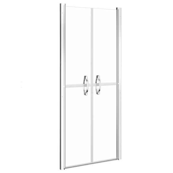 vidaXL Ușă cabină de duș, transparent, 71 x 190 cm, ESG