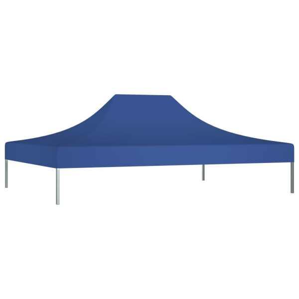 Acoperiș cort de petrecere, albastru, 4,5 x 3 m, 270 g /m²
