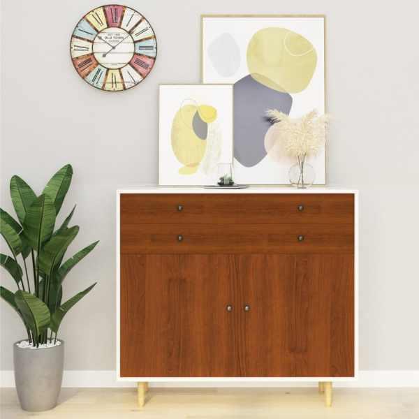 vidaXL Folii mobilier autoadezive, 2 buc. stejar deschis 500×90 cm PVC