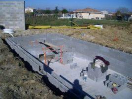 maconnerie structure beton parpaings