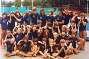 Valois Swim Team 1981