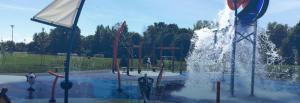 Jeux d'eau Valois Splash Pad