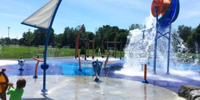 Valois Park Splash Pad