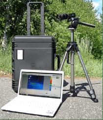 Équipement technique : caméra vidéo-luminancemètre