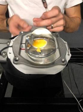 essai prototype en laboratoire