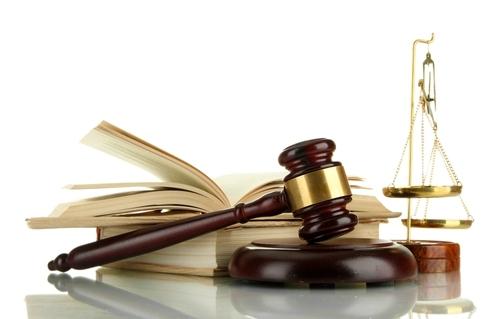Représentation de la réglementation, justice