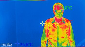 IRay T3S thermal camera perf. analysis