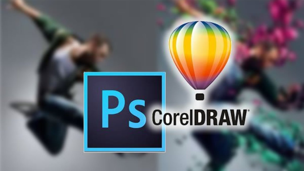 PHOTOSHOP VS  CORELDRAW - Pishon Design Studio