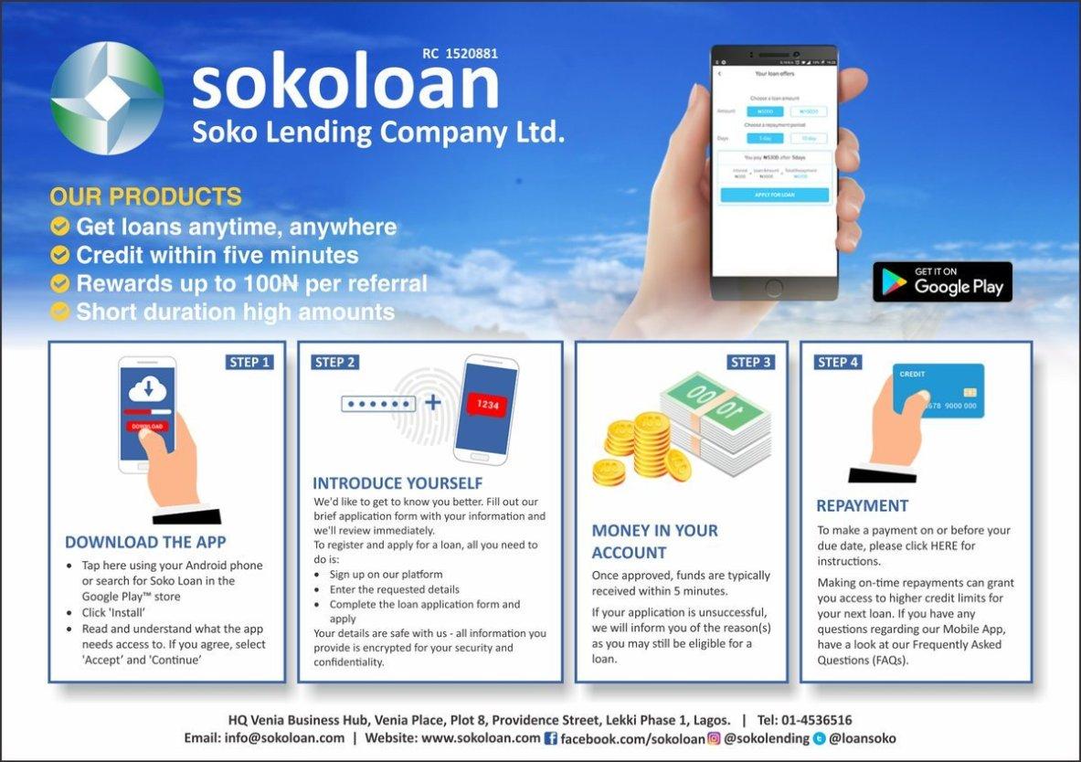 sokoloan mobile app