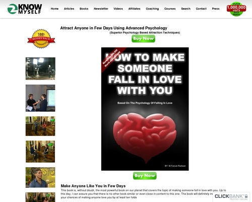 Attract Anyone In Few Days Using Advanced Psychology