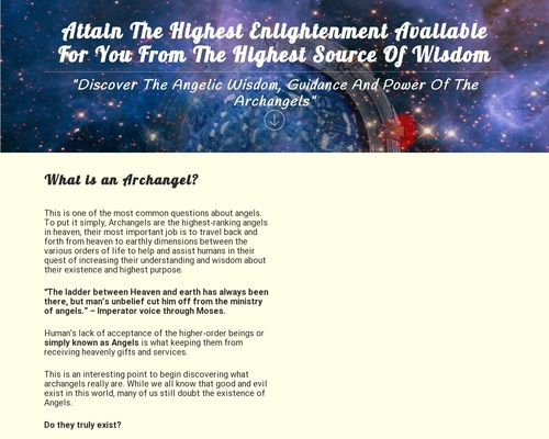 Celestial Inspiration – The Angelic Guided Path