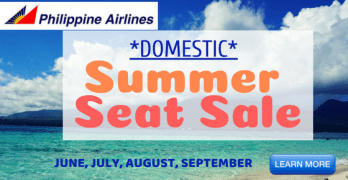 Philippine Airlines Summer Seat Sale Promo Fares 2018 – JUNE to SEPTEMBER