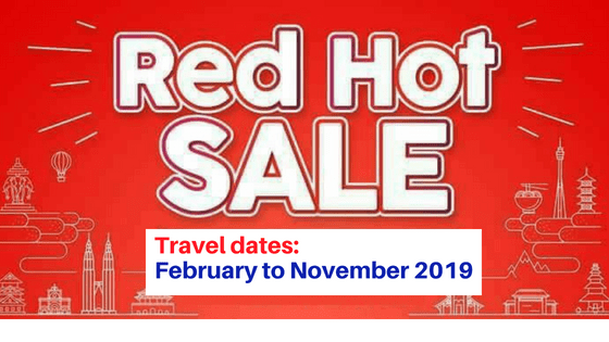 air asia 2019 red hot piso sale