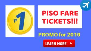 cebu pacific P1 ticket promo