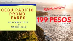 cebu pacific promos domestic 2019