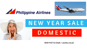 PAL new year sale promo of 2019 domestic