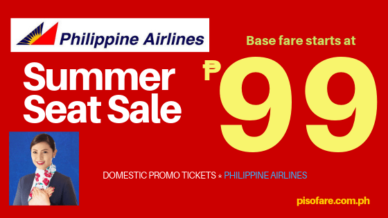 Summer Seat Sale 99 pesos