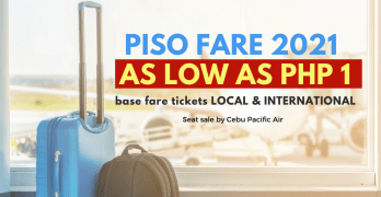 piso fare 2021 cebu pacific