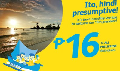 Cebu Pacific Promo 2017 Travel P16