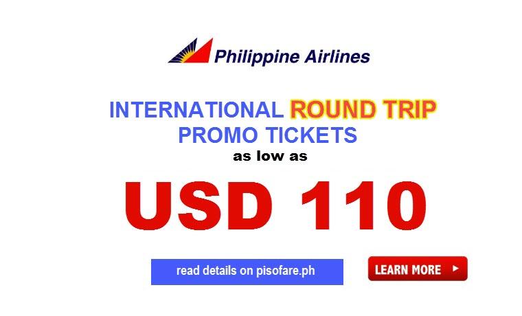 Philippine airlines anniversary international promo ticket 2017