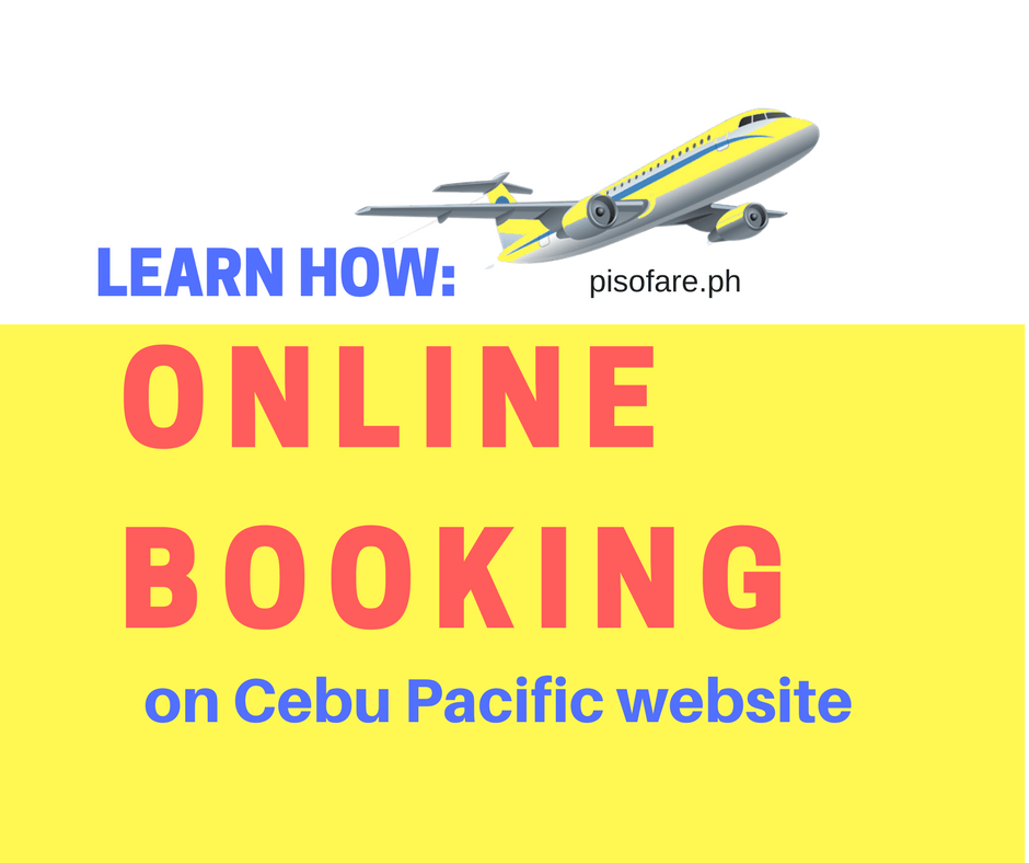 Guide cebu pacific ticket website online booking