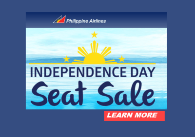 Philippine Airlines Independence Day Seat Sale 2017 Promo 2018