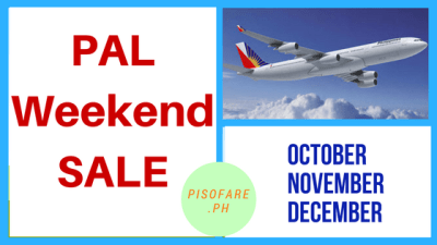 philippine airlines weekend sale christmas