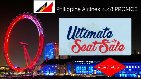 Philippines Airlines 2018 Promo Fare Ultimate Seat Sale