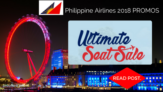 Philippines Airlines 2018 Promo Fare Ultimate Seat Sale