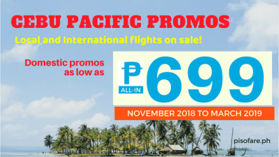 cebu pacific promo fare tickets 2018 to 2019