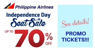 philippine airlines independence day promo 2018