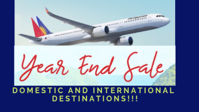 pal promo fare year end sale