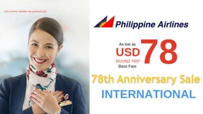 78 anniversary philippine airlines international