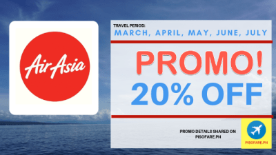 air asia 20% off promo fare 2019