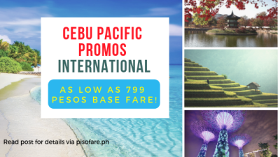 cebu pacific promo singapore china korea 2019