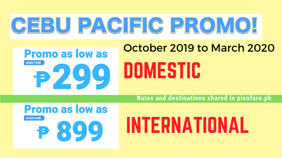 promo october 2019 to march 2020