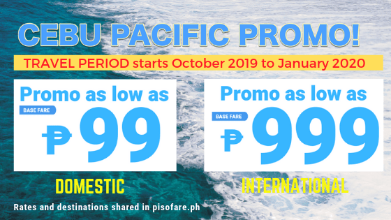99 promo and 999 promo cebu pacific
