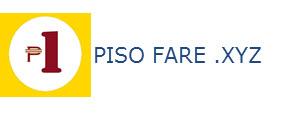 PISO FARE PROMO 2016 up to 2017